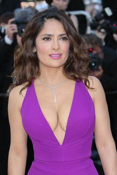 Don't miss the best looks of all time from the Cannes Film Festival: Salma Hayek, 2015
