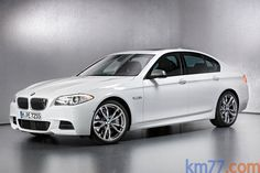 BMW Serie 5 M550d xDrive (381 CV) M550d xDrive Turismo Alpinweiss Exterior Frontal-Lateral 4 puertas