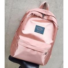 ad8fb972a643a Mochila Rose Gold Gold Backpacks, Cute Backpacks, Margaret M Pants, School  Bags For