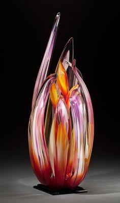 Glass Sculpture - www.RASgalleries.com