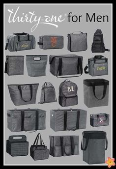 Thirty-One for men www.mythirtyone.com/valerieweddle31 follow my group on Facebook -Get organized with Valerie