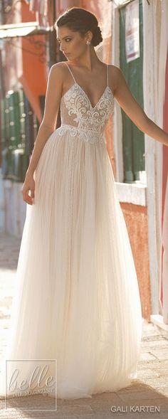 Gali Karten Wedding Dresses 2018 - Burano Bridal Collection #weddingdress #bridalgown #weddingdresses