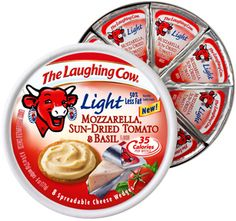 The Laughing Cow cheese wedges!
