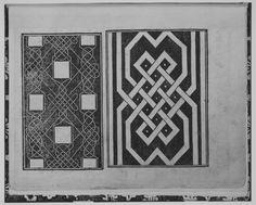 Embroidery patterns by Giovanni Antonio Tagliente, Opera nuova che insegna a le donne a cucire, Venice, 1530
