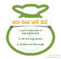 Lose your wash bag? No Worries. Any cotton bag will do. Best Laundry Detergent, Soap Nuts, Wash Bags, Cotton Bag, Dopp Kit