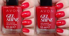Roses rouges - Gel Finish (CA) / Roses are Red - Gel Shine (US)