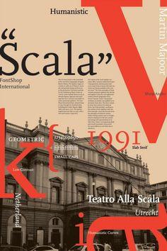 Scala Type, my new goto face. Website Design Inspiration, Layout Inspiration, Graphic Design Inspiration, Brochure Design, Branding Design, Layout Design, Print Design, Website Color Schemes, Font Shop