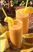 vita-sana.com  Bevanda a base di banana e arancia