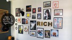 Composição de quadros na parede - Faça você mesmo - Homens da Casa