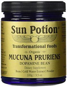 Organic Mucuna Pruriens Powder - 111g Jar