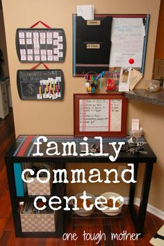 Entryway Command Center {One Tough Mother}