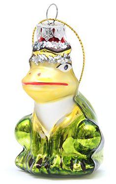 Glasanhänger Froschkönig Christbaumschmuck Weihnachtsdeko Sunday http://www.amazon.de/dp/B00Q05371S/ref=cm_sw_r_pi_dp_ugQOub0EKMVDV
