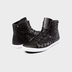Step into these classic black high tops #volcomwomens #sponsored