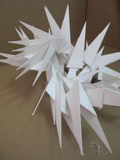 geometric transformations 3d _ basic design course 2013-2014 fall (ERU architecture) _ student: kubra kiliçkiran
