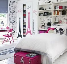 Modernes Jugendzimmer Für Mädchen Gestalten. Coole Schlafzimmer ...