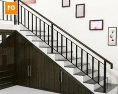 New tiny house stairs storage railings Ideas House With Balcony, Tiny House Stairs, Balcony Railing Design, Staircase Design, Best Tiny House, Stair Storage, Staircase Storage, Interior Stairs, Cool Apartments