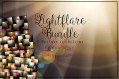 Light Flare Texture Bundle by 2 Lil Owls Studio on Creative Market