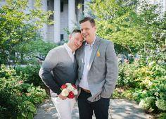 Chad & John LGBTQ Elopement || @handhweddings