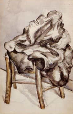 Paul Cézanne ~ Jacket on a Chair, 1890-92