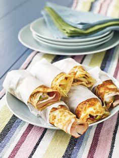 Björn Ferrys äggpannkakor med ost och skinka, perfekt frukost eller mellanmål! #lchf #lowcarb #mellanmål #lchffrukost