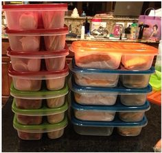 More than 150 lunch ideas... the containers are really cute and cheap too! Genius! Planning is KEY to living a healthy lifestyle for me!