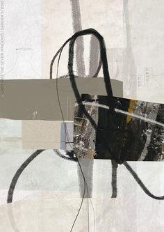 Lady And The Seven Windows (A3 hybrid art on fine art paper) / ©Sander Steins - www.sandersteins.com