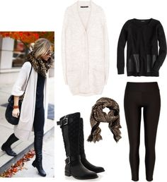 Shop the Style:  Long Cardigan   Leopard