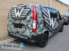 Boss Dog   Vehicle graphics, Van signwriting, Car wrappingAll   Boss Dog   Vehicle graphics, Van signwriting, Car wrapping