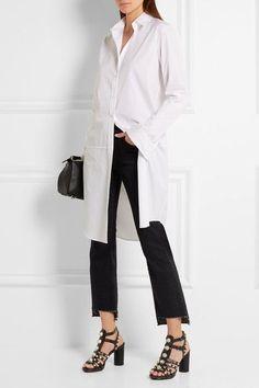 Balenciaga - Studded Textured-leather Sandals - Black - IT