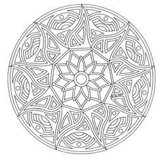 mandala coloring pages for adults and teenagers drawings of mandala