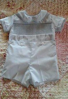 Vintage Style, Vintage Fashion, Smocking, Bespoke, Machine Embroidery, Sewing, Boys, Classic, Needlepoint