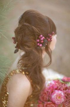 Berry Hairpiece