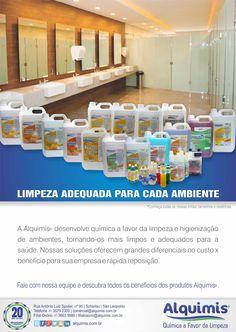 Limpeza para empresas comercial@alquimis.com.br