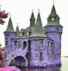 Boldt Castle - Photoshopped