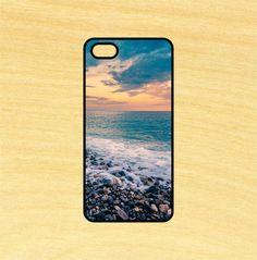Beach and Rocks Scene Photography Ocean Phone Case iPhone 4 / 4s / 5 / 5s / 5c /6 / 6s /6+ Apple Samsung Galaxy S3 / S4 / S5 / S6
