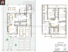 Small Villa, Plan Sketch, Villa Plan, Micro House, Tiny House Plans, Home Design Plans, Architecture Plan, 2nd Floor, Pallet Furniture