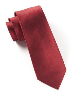 Industry Solid Ties - Red | Ties, Bow Ties, and Pocket Squares | The Tie Bar