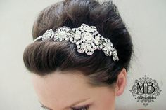 Natalie Beautiful and Trendy / High End /Bridal Head by MyMEMENTO, $178.80