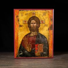Christ Pantocrator Icon - X113 - Legacy Icons