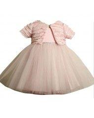 Bonnie Jean Pink Ballerina Dress and Bolero Jacket