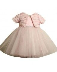 Bonnie Jean Pink Ballerina Dress and Bolero Jacket