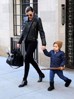 Miranda Kerr and son
