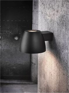 The Nordlux Bell LED 76381003 Black Wall Light at We have the complete range of Nordlux light fixtures available for fast delivery. Nordlux, Outdoor Sconces, Wall Lights, Light, Exterior Wall Light, Black Wall Lights, Lights, Column Lights, Coastal Lighting