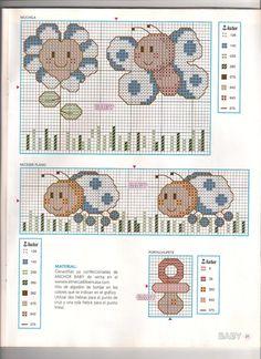 Punto De Cruz Para Bebes | esquemas punto de cruz bebes