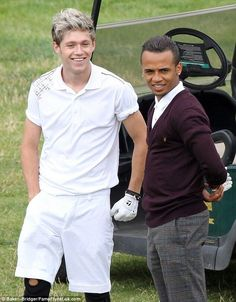 HQ Niall and Aston Merrygold out golfing in Buckinghamshire on Aug 15th! #1