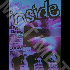 Bo Burnham 'INSIDE' Poster HD Digital Download | Etsy Netflix Specials, New Netflix, Bo Burnham, The Incredibles, Digital, Poster, Etsy, Design