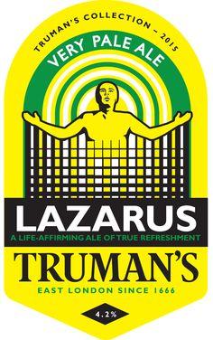 A pump badge I have designed for Truman's  www.trumansbeer.co.uk