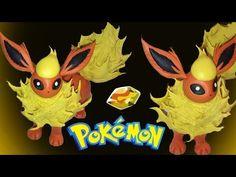 Flareon Pokémon  Polymer Clay Tutorial