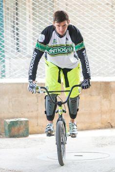 Carlos Mario Oquendo. Medallista olímpico. #SeleccionAntioquia #Bicicros #Antioquia #Bicicross #Deportes #Sports #BMX