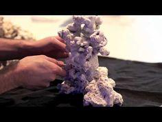 Pillar Aquascape in Reef Aquarium - YouTube
